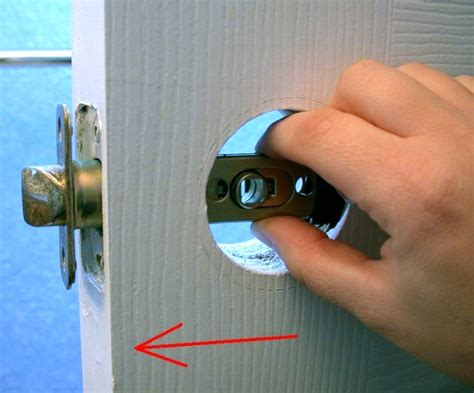 replace interior door knob how to replace an interior doorknob 15 steps wikihow