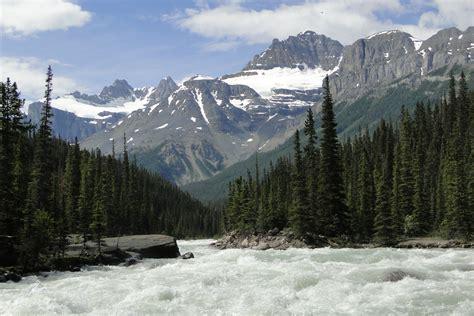canada turisti per caso canada banff national park mistaya river viaggi