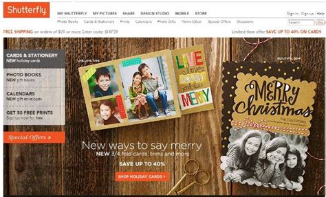 Where Can You Buy A Shutterfly Gift Card - 18 best places to buy holiday cards this year