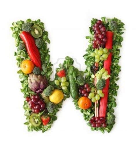 s w vegetables fruit and vegetable alphabet letter w alphabet