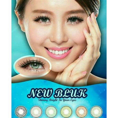 Softlens New softlens new bluk mirip nobluk new bluk baby murah