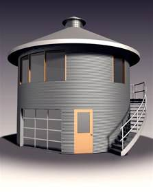 silo home plans grain silo house history