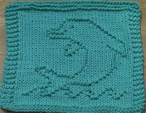 free dolphin knitting pattern ravelry dolphin dishcloth pattern by millan