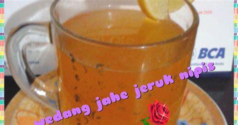 resep wedang jahe jeruk nipis oleh irma desmayanti cookpad