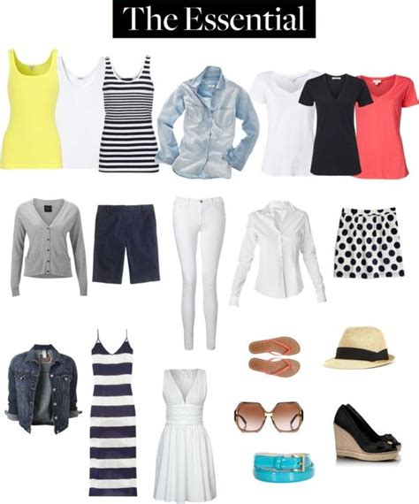 Summer Wardrobe Essentials by Pin By Rosslyn Valdez On Summer Closet