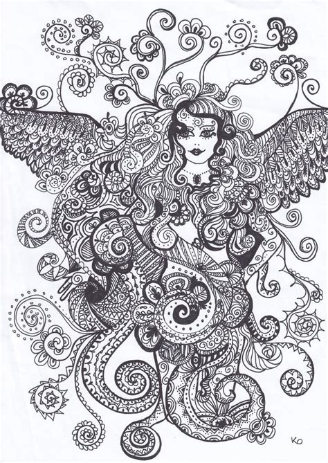 vire coloring pages adults abstract doodle zentangle zendoodle paisley coloring pages