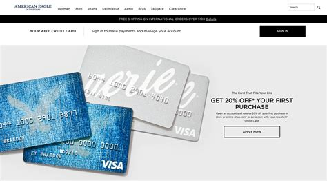 Gift Card Balance American Eagle - american eagle rewards credit card infocard co