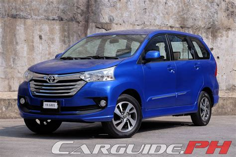 toyota avanza price review 2016 toyota avanza 1 5g a t philippine car news