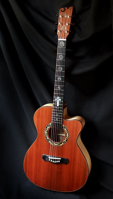 Custom Handmade Acoustic Guitars - grand auditorium guitars handmade elijah guitars