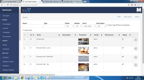download layout xibo prepare layout issue support xibo community