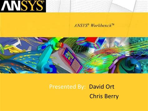 ansys work bench ansys workbench