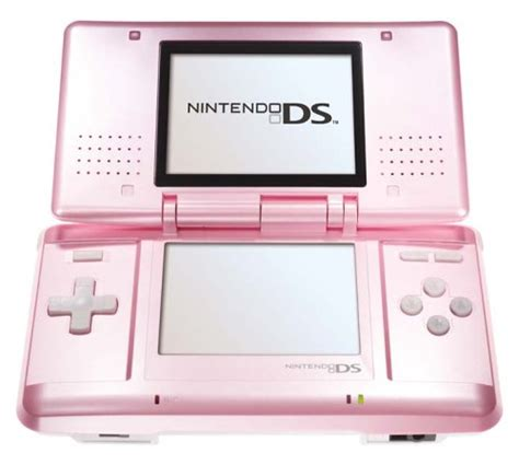 nintendo ds pink console pink electricals nintendo ds lite pink
