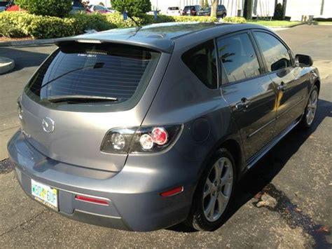 buy mazda 3 hatchback buy used 2007 mazda 3 s hatchback 4 door 2 3l in