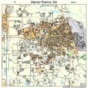 warner robins map 1380508