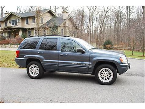 2002 Jeep Grand Seats Purchase Used 2002 Jeep Grand Limited V8 Leather