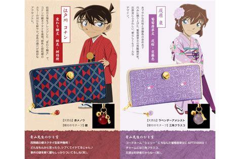 Dompet Wallet Anime Detective Conan 2 detective conan dijadikan oleh oleh khas kyoto sorewa
