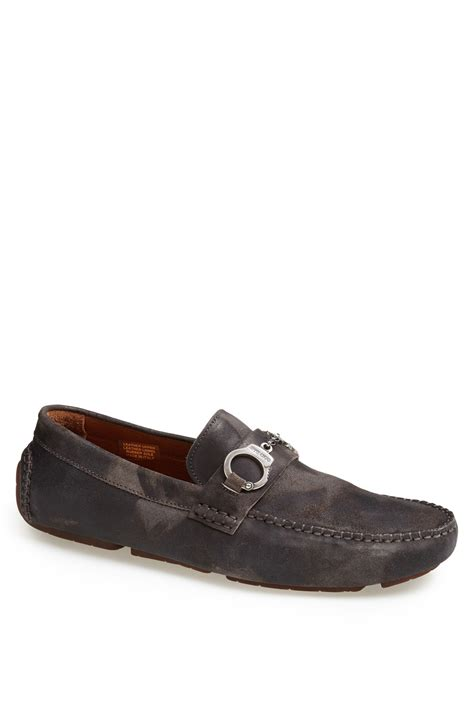 jimmy choo mens shoes jimmy choo brogan driving shoe in gray for grey mix