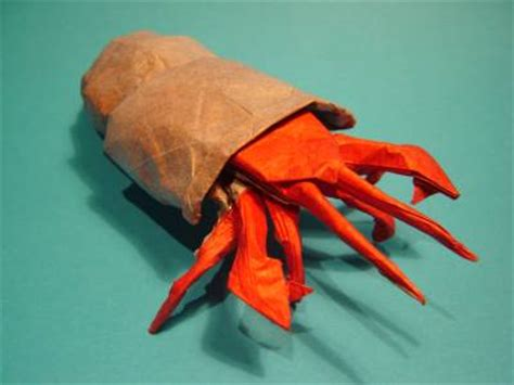 Origami Hermit Crab - the origami page