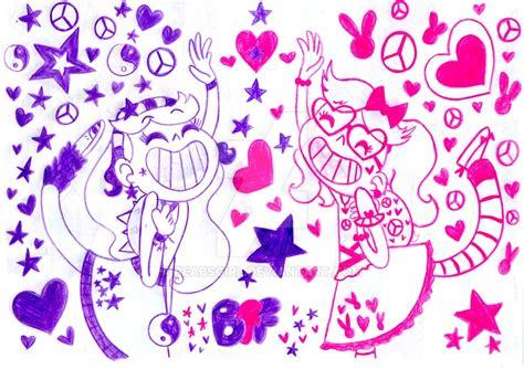 imagenes tumblr para dibujar de amigas mejores amigas para siempre bff by peabsgirl on deviantart