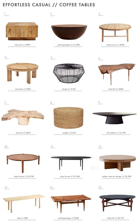 emily henderson coffee table achieving the effortless expensive style furniture