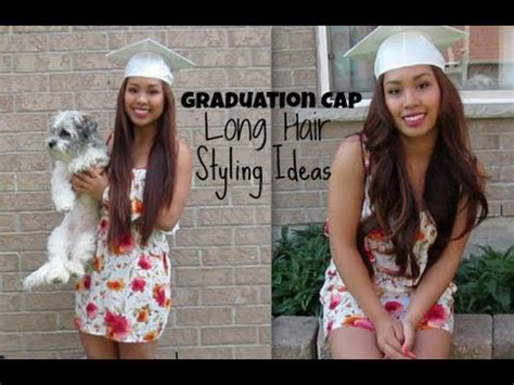 the graduation look hairstyles for your little girls graduation cap long hair style ideas itsnellylospe
