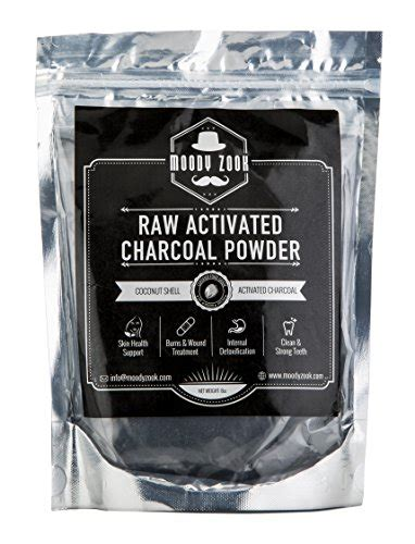 activated charcoal powder  moody zook organic teeth