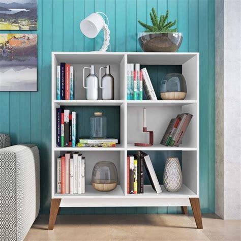 estante baixa para livros estante para livros baixa 4 prateleiras 0807 retr 244