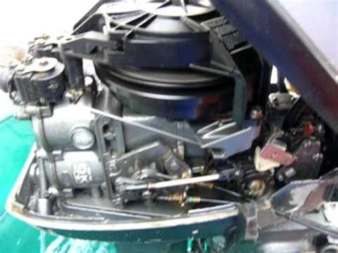mariner hp outboard  stroke youtube