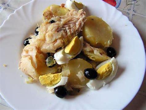 cuisiner morue dessal馥 recette de morue aux pommes de terre