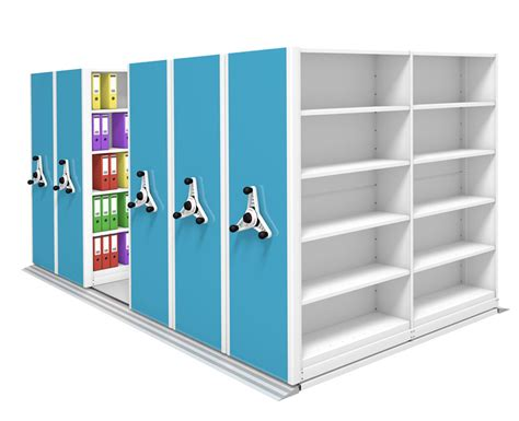 probe kinetic mobile shelving units