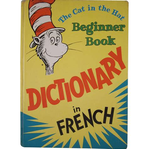 cat in the hat book pictures the cat in the hat beginner book dictionary in
