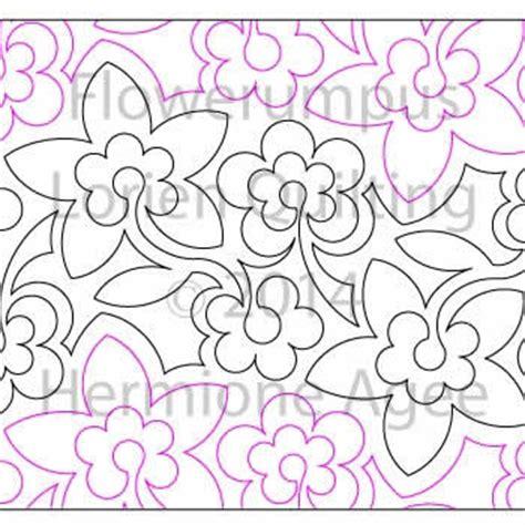 Digital Quilting Designs by Flowerumpus Lorien Quilting Digitized Quilting Designs