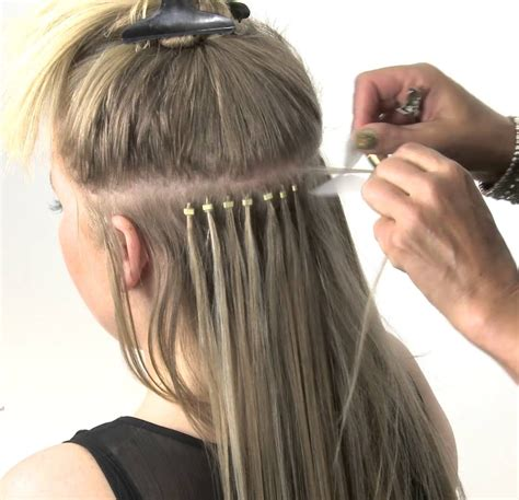 micro loop extension cons long hairstyles micro ring weft hair extensions maintenance remy indian hair