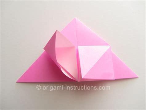Origami Twisty - easy origami twisty folding