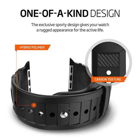Spigen Rugged Apple Watch Band Adds Rugged Aesthetics to Your Smartwatch   Gadgetsin