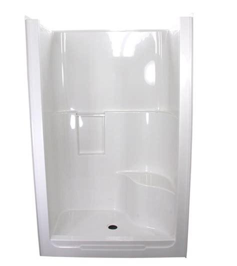 piece shower stall ideas  pinterest  piece shower fiberglass shower stalls