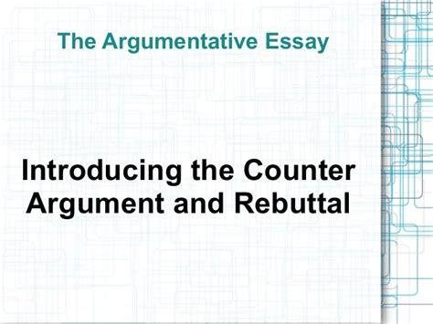 Rebuttal Argument Essay Topics by Rebuttal Argument Essay Topics
