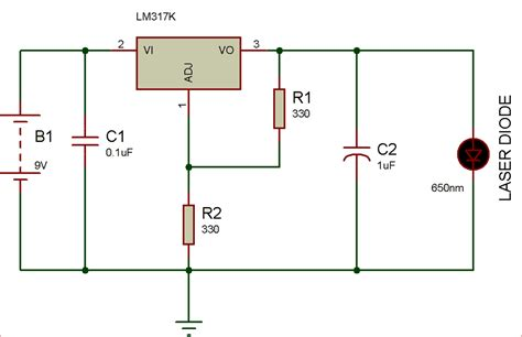 laser diode driver circuit diagram circuit and