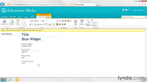 editing page layout in sharepoint 2010 editing a page layout sharepoint designer 2010 branding
