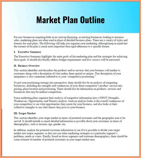 0 1 marketing plan outline slenotary