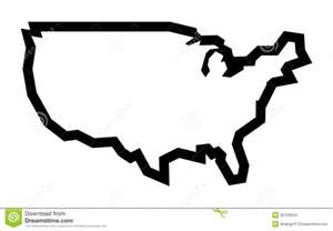 america country shape icon stock vector image 55122844