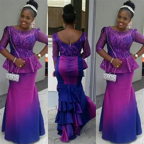 nigeria sewing styles fashion gallery stunning colourful aso ebi amillionstyles