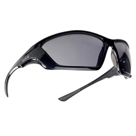Kacamata Swat Tactical 5lens bolle ballistic spectacles clear smoke yellow lens black frame ballistic