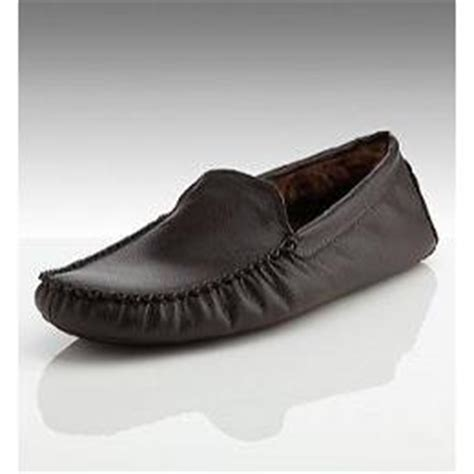 marks spencer contrast stitch moccasins shoes for