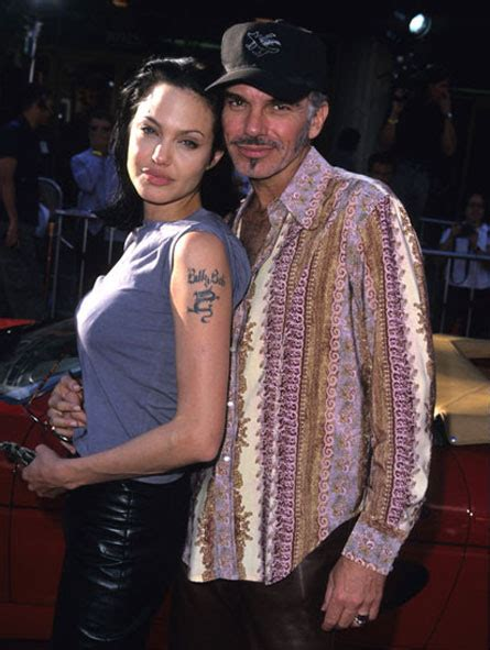 angelina jolie billy bob tattoo s secret billy bob thornton