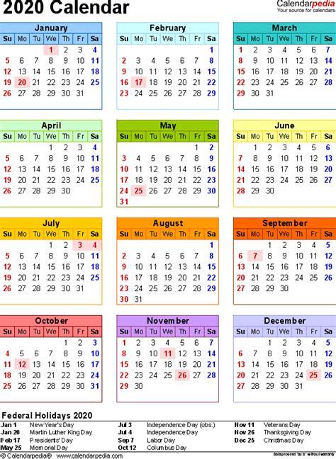 calendar  printable templates