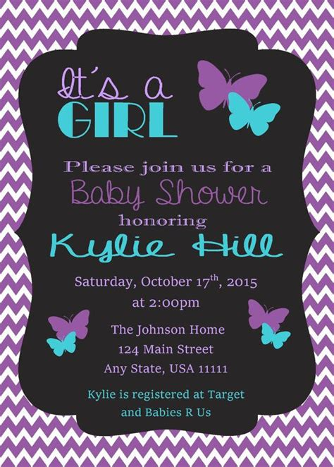 Butterfly Invitations For Baby Shower by 25 Best Ideas About Butterfly Baby Shower On