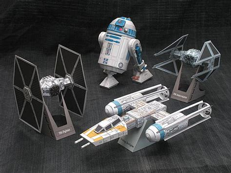 Wars Papercraft Models - wars diy family