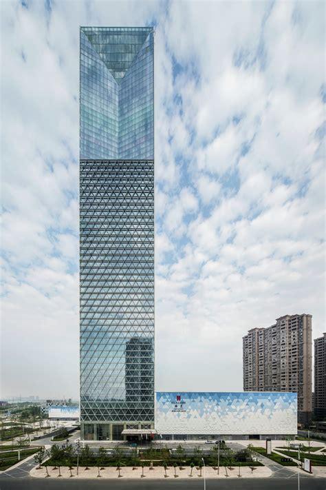 jiangxi nanchang greenland zifeng tower som archdaily