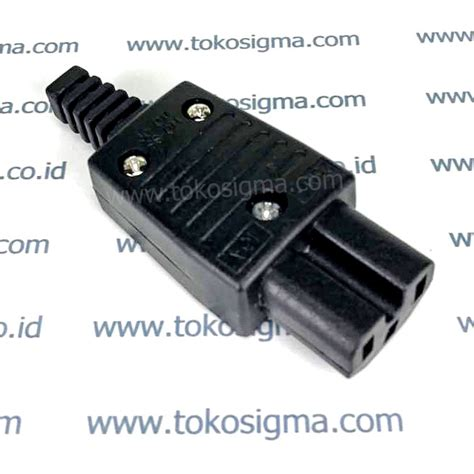 Konektor C13 Or C15 3 Pin connector c13 3 pin toko sigma